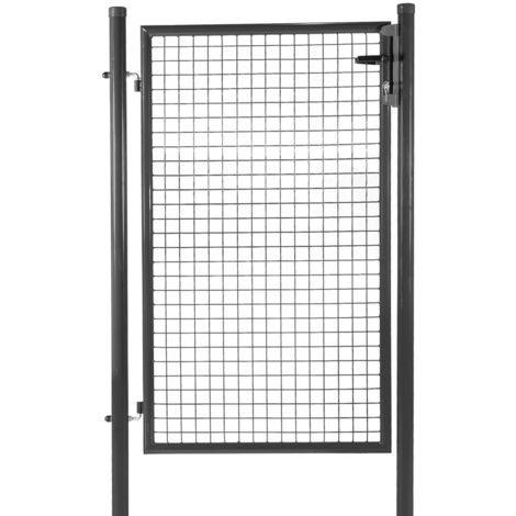 Wire mesh garden gates