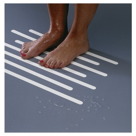 Non-slip mat for shower and bath