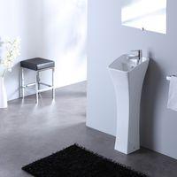 Lave mains colonne