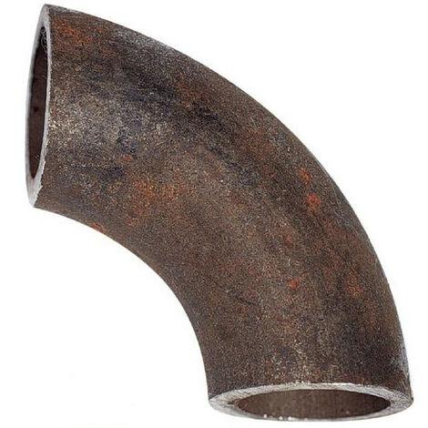 Coude court 90° en acier à souder Diam33,7 ext, 2,3mm épaisseur