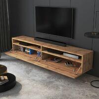Selsey REDNAW - Meuble TV - 180 cm - chêne wotan - scandinave - moderne