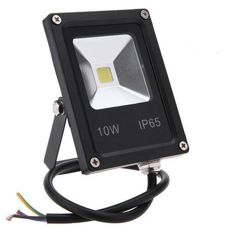Proyector LED de interior/exterior Blanco Extraplano Frío 10W, 20W, 30W, 50W | Potencia Watt: 10 watts/ 970lm/ ~88w