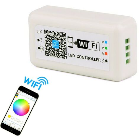 Controlador WIFI RGB para cinta de 12V