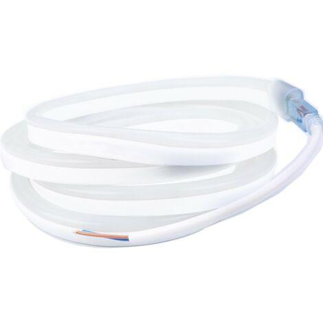 """Profesional 12V EPISTAR 2835 120 LED/m 5 metros de cinta LED """"neón flexible"""" blanca Profesional 12V EPISTAR 2835 120 LED/m 5 met   Longitud: 5 metros - Transformador: No se incluye la fuente de alimentación"""