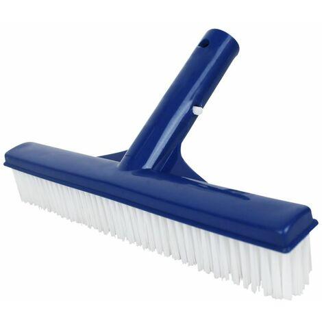 Tête de brosse paroi 25 cm pour piscine adaptable sur manche standard ou télescopique - Bleu - Linxor