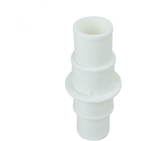 Liaison, raccord 32/32, 38/38, 32/38 pour tuyau flottant de pisicne - Blanc - Linxor