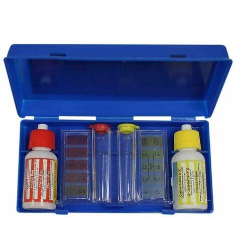 Trousse d'analyse liquide pour ph, chlore et brome - Linxor