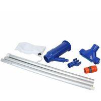 Aspirateur manuel à jet avec manche pour piscine hors sol ou spa - Bleu - Linxor