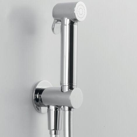 """Ensemble Douchette Hygiène WC haut qualité """"ARES"""" au design rond et moderne(code 74811)"""