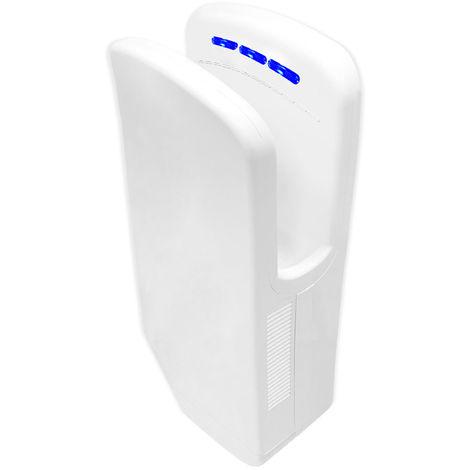 Gedy Diablo - Sèche-mains électrique - blanc (code 2453-02) Avec Photocellule Eco-jet
