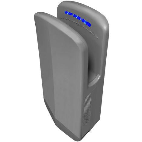 Gedy Diablo - Sèche-mains électrique - gris (code 2453-08) Avec Photocellule Eco-jet