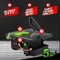 Table coupe carrelages 600W - 180mm - Constructor