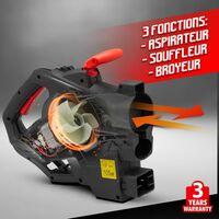 Aspirateur souffleur broyeur 3000W vitesse variabl