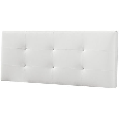 Cabecero De Cama Tapizado Carla 150x60 Blanco