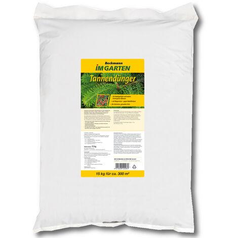 BECKMANN engrais de sapin 15 kg engrais pour arbres feuillus ,engrais pour arbres résineux, engrais pour conifères