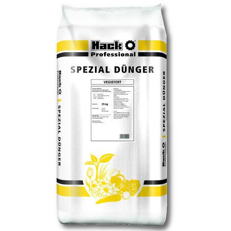 HACK PROFI Vegiefert 25 kg engrais universel, engrais pour légumes, engrais organique, engrais naturel