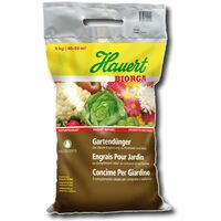 Hauert BIORGA engrais de jardin 5 kg Günther organique nature légumes fruits
