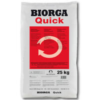 Hauert BIORGA Quick ECO engrais pour légumes 25 kg engrais organique, engrais écologique, engrais naturel