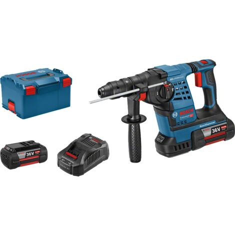 Bosch Professional Perforateur sans-fil SDS plus GBH 36 VF-LI Plus 3,2 J 36 V, 2 batteries 36 V 6 Ah 061190600B