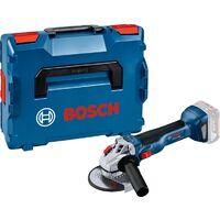 Bosch Professional Meuleuse angulaire sans fil GWS 18V-10 sans batterie ni chargeur + L-Boxx 06019J4003