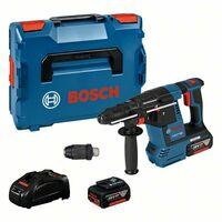 Bosch Perforateur sans fil SDS plus GBH 18V 26 F, avec 2 x 5,0 Ah Li Ion batterie, L BOXX 0611910007