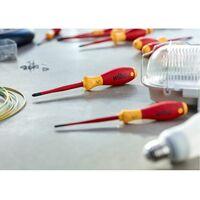 WIHA 3201SF K12 SET 12 piezas juego de destornilladores ranurados/PH/PZ/TORX SoftFinish® electric slimFix