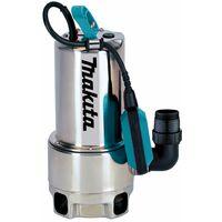 Makita Bomba sumergible PF1110 para agua limpia y sucia | 1100 vatios