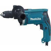 Makita Taladro percutor HP1631KX3 incl. 74 uds. Juego de accesorios