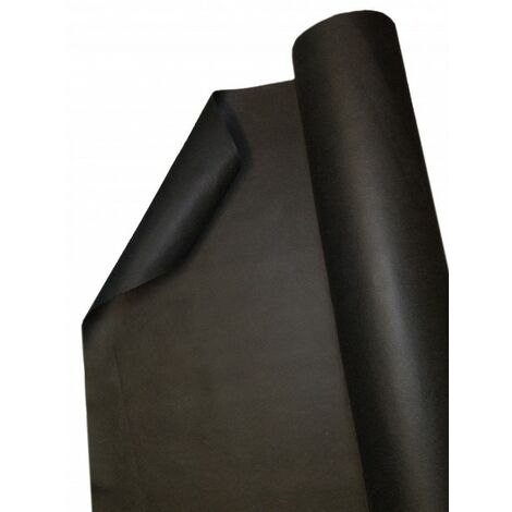 75 m x 1 m feutre de paillage anti-mauvaises herbes stable aux UV avec 2 surfaces, film de paillage, toile de paillage PES/PP