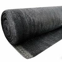 14 m filet d'ombrage, brise-vue pour clôture, bâche de tennis, clôture de protection contre les regards, claustra 90 g 2 m