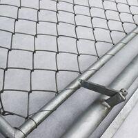 Porte pour clôture de protection contre la faune sauvage, clôture forestière, clôture de pâturage, grillage noué, 1 m de large