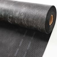 750 m² membrane de sous-couche, membrane de coffrage, membrane de toiture, membrane de sous-couche de toiture 130 g, 1,5 m de large