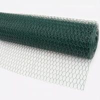 120 m grillage à maille hexagonale, grillage de poulailler, grillage de clôture pour lapins, grillage de clôture pour lièvres, vert, grillage pour clapiers à lapins 50 cm