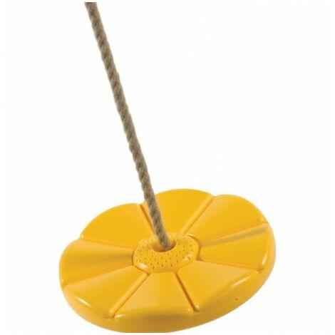 Disque jaune - Agrès pour portique Chalet Jardin - Jaune