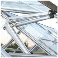 Ouverture automatique pour serre en verre et en polycarbonate