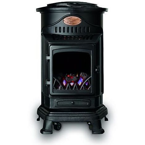 Estufa portátil a gas Provence Negro Fireside 3,4 kW