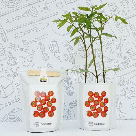 Kit huerto Tomate cherry Garden Pocket