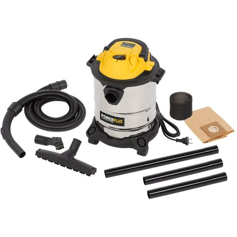 Aspirador húmedo/seco 1000W - 15L Powerplus