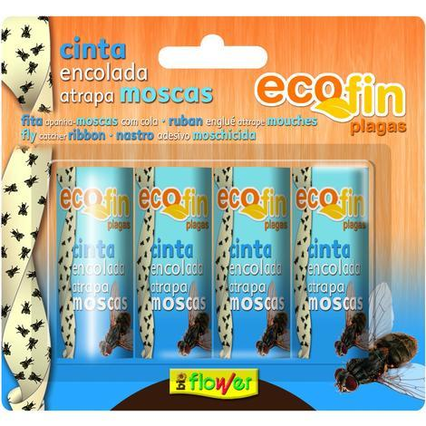 Cintas encoladas e insecticidas en aerosol