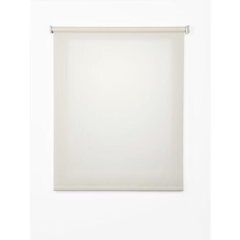 Estor enrollable translúcido blanco 100x250 cm