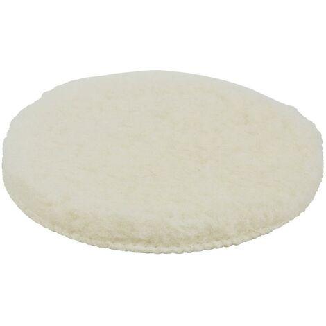1 boina de pulir de lana de cordero adhesivo, Ø 150 mm.