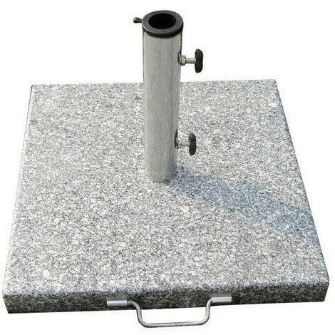 Base Sombrilla Granito 20 kg / 400x400 mm