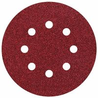 25 discos adhesivos de lijar perforadas Ø 125 mm Grano 80