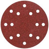 10 papel de lija auto-adhesivos GR 40,80,120 Ø 150 mm Wolfcraft 8404000