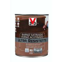 Barniz interior ultra resistente satinado - sapeli 750 ml