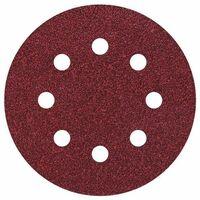5 discos adhesivos de lijar ø 115 mm para lijadoras excéntricas Wolfrcraft Grano 40