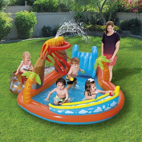 Bestway Lava Lagoon Paddling Pool Play Centre