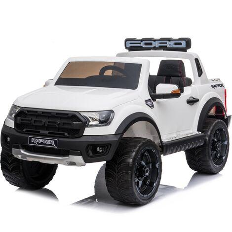 Kids Electric Ride On Ford Ranger Raptor White