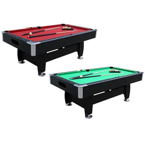 Walker and Simpson Vulkan 7ft Pool Table-Red