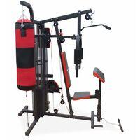 Iron Man IM-409B Home Multi Gym with Punch bag